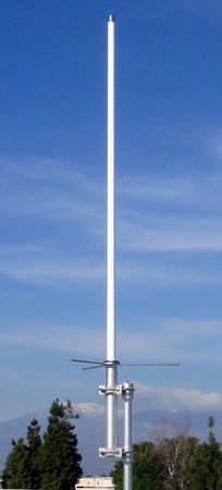 Comet Original GP-3 Dual Band 146/446 MHz Heavy-Duty Fiberglass Vertical Base Antenna - 5' 11'', SO-239 Connector by Comet