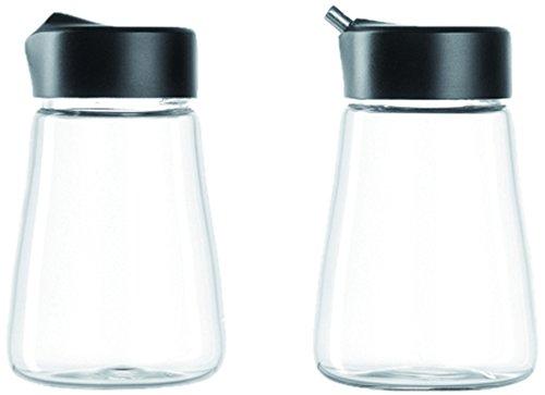 Leonardo 014661 Set 2 Milch und Zucker Kaffeeservice Senso