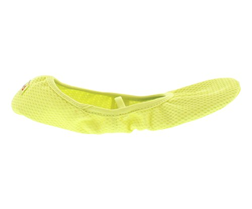 Reebok TRUE STUDIO SLIPPER 2.0 T Womens Slippers Size US 6, Regular Width, Color Yellow