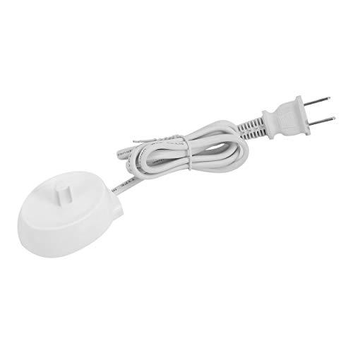 CNluca 110V Reemplazo del Cargador de Cepillo de Dientes eléctrico Modelo 3757 EE. UU. para Braun Oral-b D17 OC18 Cuna de...