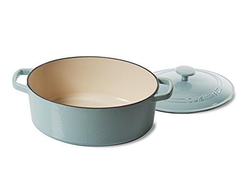 Cuisinart 5.5 Qt. Casserole Cast Iron, Light Blue by Cuisinart (Image #1)