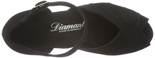 Diamant Damen Tanzschuhe 001-103-040, Escarpins Femme Noir (Black / Gum)