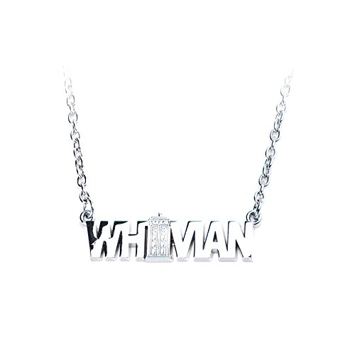 Doctor Who Whovian Zinc Alloy Necklace