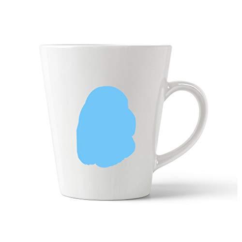 (Style In Print Light Blue Sussex Spaniel Silhouette Ceramic Latte Mug - 12 OZ)