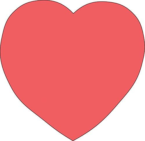 Heart Sticky Notepad