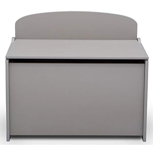 31hpFBgAgeL - Delta Children MySize Deluxe Toy Box, Grey