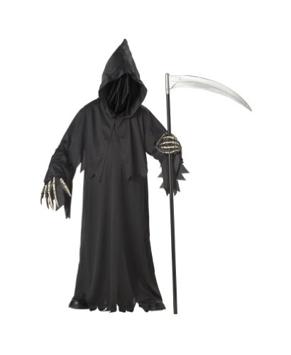 Grim Reaper Costume deluxe - Child - Medium -
