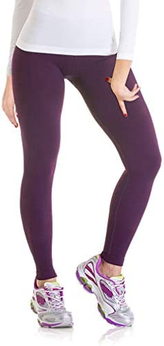 Lupo Womens Emana Womens Cellulite reducing Compression Running Pants