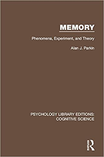 Memory: Phenomena, Experiment and Theory: Volume 20