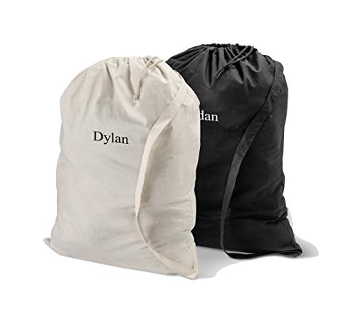Gifts Engraved Personalized Laundry Bag -