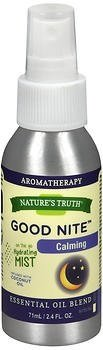 Nature's Truth Goodnight Calming Mist, 2.4oz Bottle (Pack of 4) by Nature's Truth