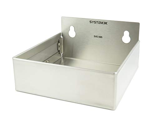 - System X Storage SVS 065 Stainless Steel Pegboard Accessory Large Bin (5.9 x 5.82 x 3.15 inches)