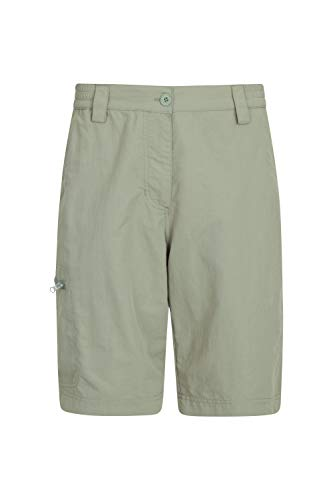 - Mountain Warehouse Navigator Womens Fast Dry Shorts -Ladies Pants Light Khaki 12
