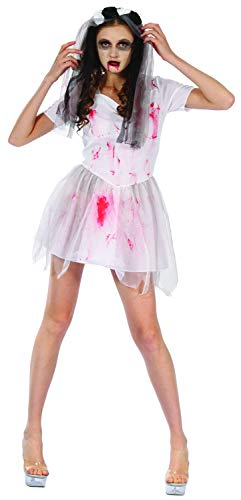Gothic Vampire Brides Adult Bloody Halloween Scary Costumes Costume Ladies -