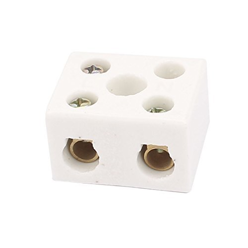 DealMux AC380 25A 2 ví as 5 Agujero Cerá mica Porcelana bloque de terminales Empalme