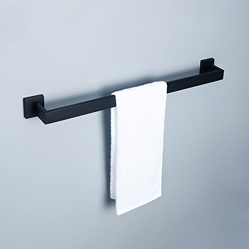 Replacement Towel Bar Post - Alise GA7201B Bathroom Towel Bar Wall Mount 24-Inch,SUS304 Stainless Steel Matte Black
