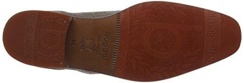 Bugatti 311138013400 - Zapatos Derby Hombre Gris - Grau (hellgrau 1200)