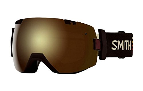 Smith Optics I/O Adult Snowmobile Goggles Morel Sunset / Gold Sol-x - Gold Goggles