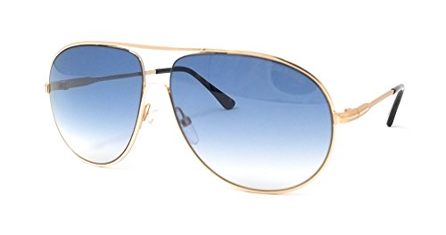 Tom+Ford+Sunglasses+TF+450+Cliff+28P+Gold+and+Havana+61mm