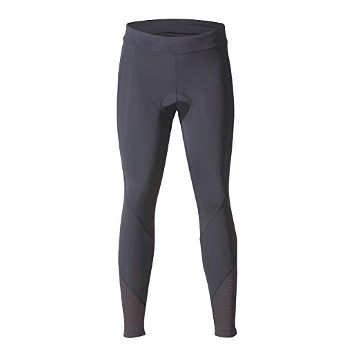 beroy Women 3D Padded Cycling Pants with Adjust Drawstring,Ladies Compression Tights Bike Pants(S Black) by beroy (Image #1)