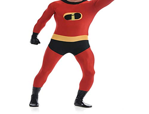 Catsuit Costume Lycra Spandex Super Hero Zentai Suit Halloween Costume,Men,S,Adult ()