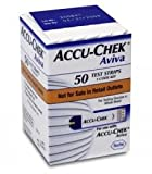 Accu-chek Aviva Plus Test Strips 50 Each (New Look)