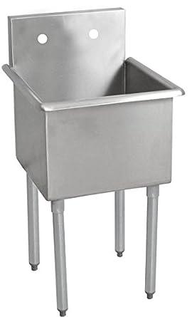 Wonderful John Boos B1S8 18 14 Stainless Steel Budget Sink, 1 Bowl, 21u0026quot