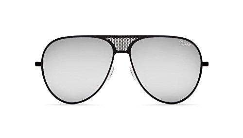 Quay x Kylie Iconic Aviator Black Sunglasses (Black, - Sunglasses Quay Cheap
