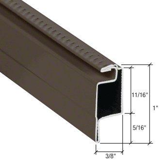CRL Bronze 5/16; Lip Frame WSFL7BRZ (Lip Frame Corner)