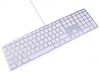 LMP 17573 KB-1243 - Teclado Español USB para Mac, color Plata