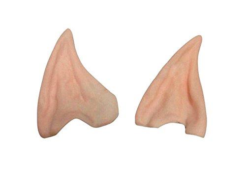 2 pair Cosplay Elf Ears, Party Latex Soft Elf Ear Fake Ears Cosplay Accessories