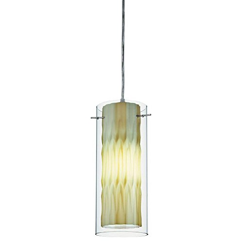 Lithonia Lighting 11990 GG M4 1 Lamp 13W Compact Fluorescent Pendant, Green