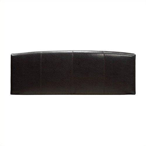 Modus Furniture Ledge Upholstered Arch Headboard, Chocolate, King