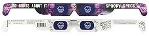 Spooky Specs Assortment - Bat, Pumpkin & Skull Hologram Lenses in Paper Frames - Holospex Holographic 3D Glasses from Online Science Mall