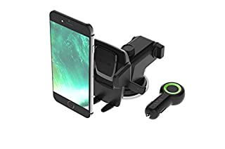 iOttie Easy One Touch 3 (V2.0) Car Mount Universal Phone Holder for iPhone X 8/8 Plus 7 7 Plus 6s Plus 6s 6 SE Samsung Galaxy S9 S9 Plus S8 Plus S8 Edge S7 S6 Note 8 5 (B01BZC262Q) | Amazon price tracker / tracking, Amazon price history charts, Amazon price watches, Amazon price drop alerts