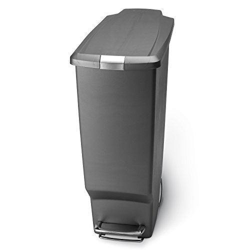 simplehuman Slim Plastic Step Trash product image
