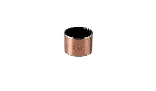 Bearings 25mm Bore 28mm OD 40mm L Wrapped Oilless Bushings 3Pcs Sleeve Plain