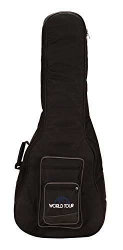 World Tour Deluxe 20mm Acoustic-Electric Bass Gig (Deluxe Bass Bag)