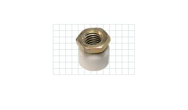Steel Zinc Plated CL-6-SPF Carr Lane Manufacturing Swivel Pad Foot Thread 3//8-16