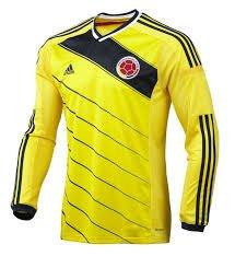Adidas Colombia Camiseta g85388 LS de Manga Larga Camiseta Seleccion Colombia Manga Larga - G85388,