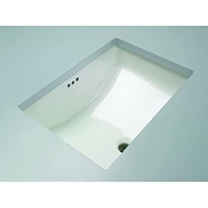 Bon Mirabelle MIRU1812 18 11/16u0026quot; Porcelain Undermount Bathroom Sink With  Overflow, ...