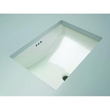 mirabelle miru1812 18 1116 porcelain undermount bathroom sink with overflow
