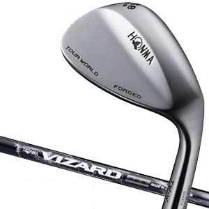 本間ゴルフ ツアーワールド TW-W ウエッジ VIZARD IB105W シャフト 50度 ハーフミラー仕上げ