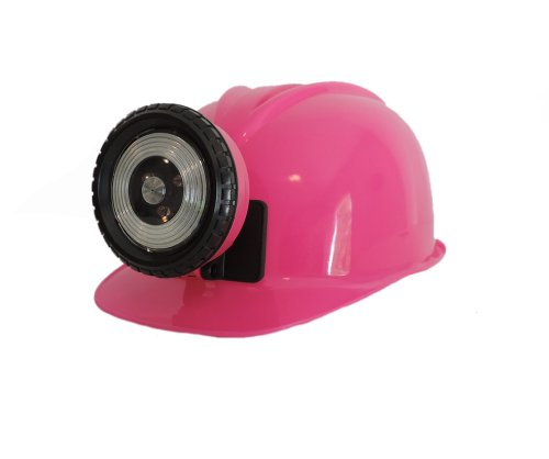 Miner Kids Costumes Coal For (Childrens Pink Construction Lighted Miner Hard)