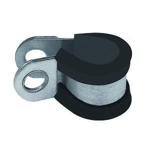 W1 RIEGLER Abrazadera de tubo RSGU acero galvanizado margen de sujeci/ón 25,0 mm