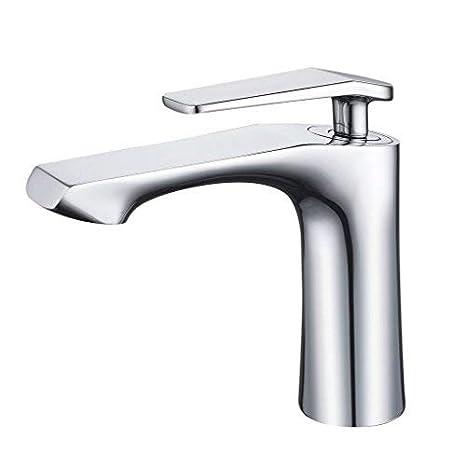 Waschbeckenarmatur Wasserhahn Waschtischarmatur Einhebelmischer Bad Chrom 32~42