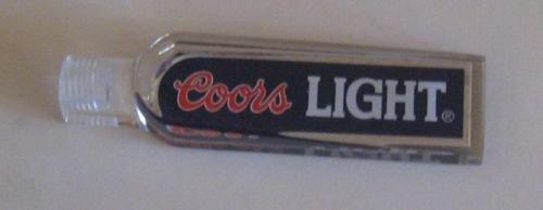 (Coors Light Mini Shotgun Style Beer Tap Handle Keg)