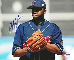 C.C. Sabathia Signed 8x10 Photo Indians - PSA/DNA Authentication - Autographed MLB Photos (Autograph Signed 8x10 Indians Photo)
