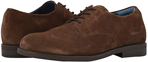 Birkenstock Jaren Oxford Shoes, Mocha Suede, EU 46 / US Mens 13-13.5 M