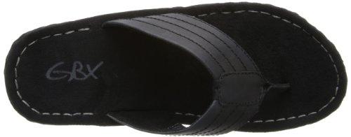 Gbx Menns Straite Kjole Sandal Sort